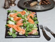 Smoked Salmon Salad with Citrus & Spice