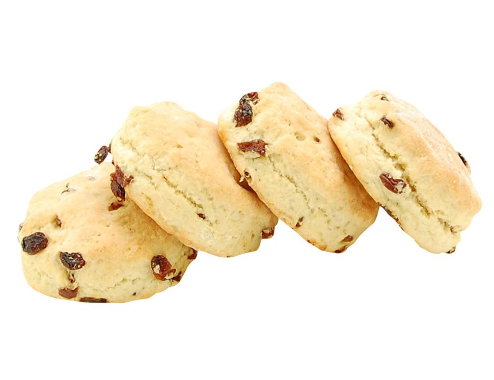 Fruit Scones, Authentic Bread Co. (pack of 4)