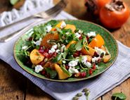 Sharon Fruit, Clementine & Sheep's Cheese Salad