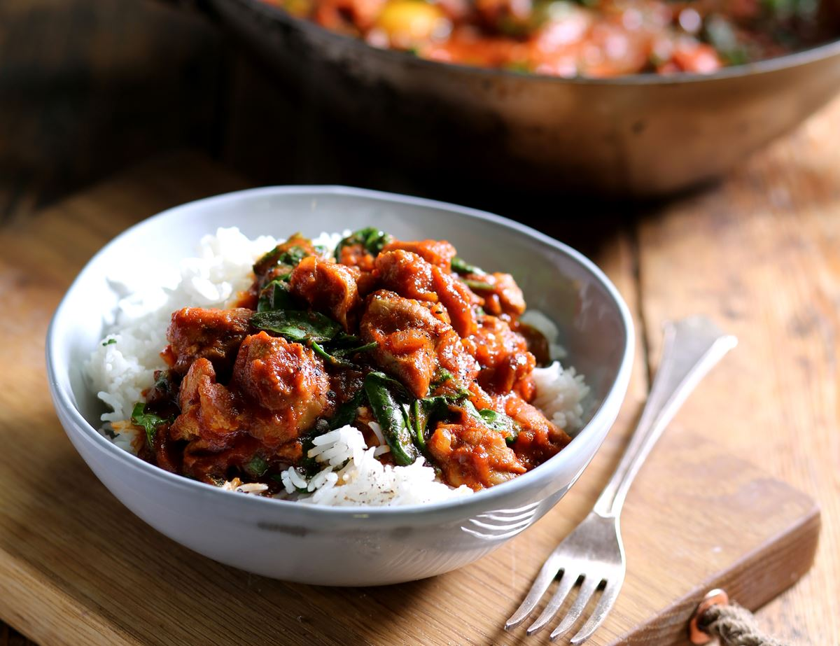 Saucy Chicken & Tomato Curry with Bombay Spices