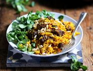 Spiced Lamb & Date Pilaf