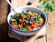 Black Bean & Quinoa Chilli