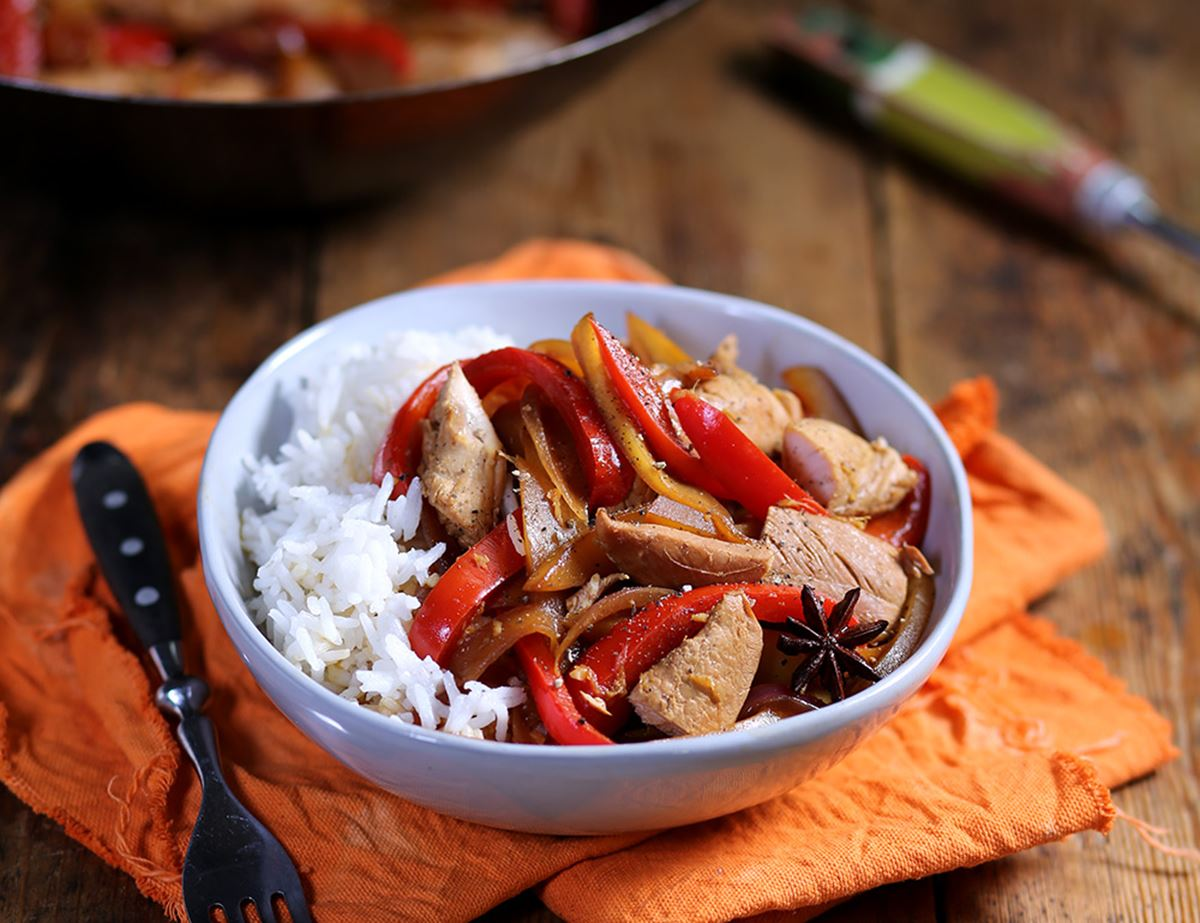 Chicken & Mango Stir-Fry