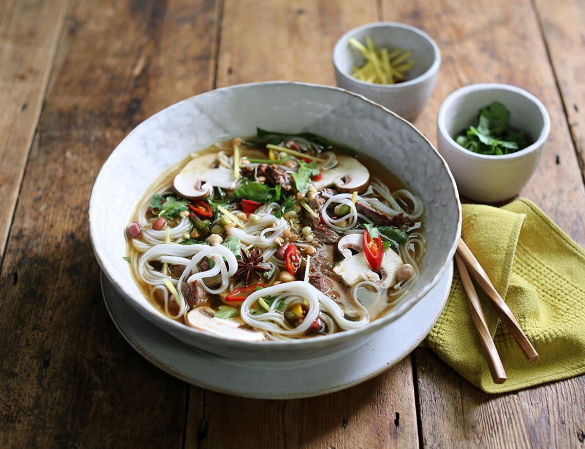 Peppered Beef Pho