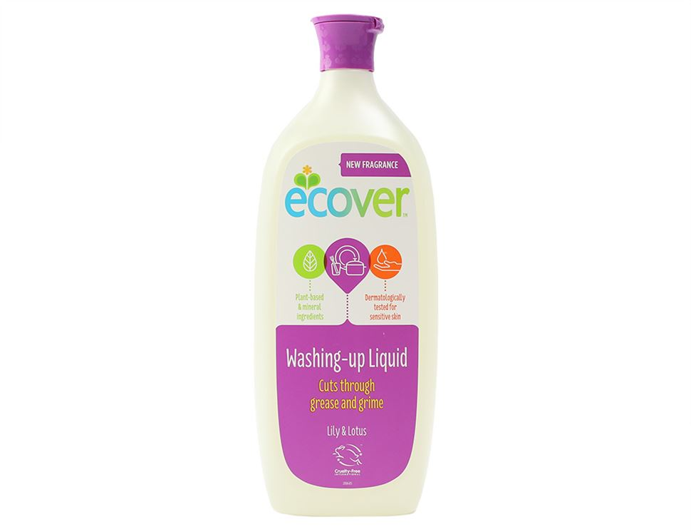 Washing Up Liquid, Lily & Lotus, Ecover (1ltr)