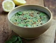 Watercress & Cannellini Bean Soup