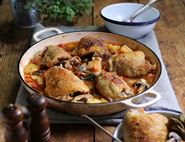 Slow Cooked Italian Chicken Stew