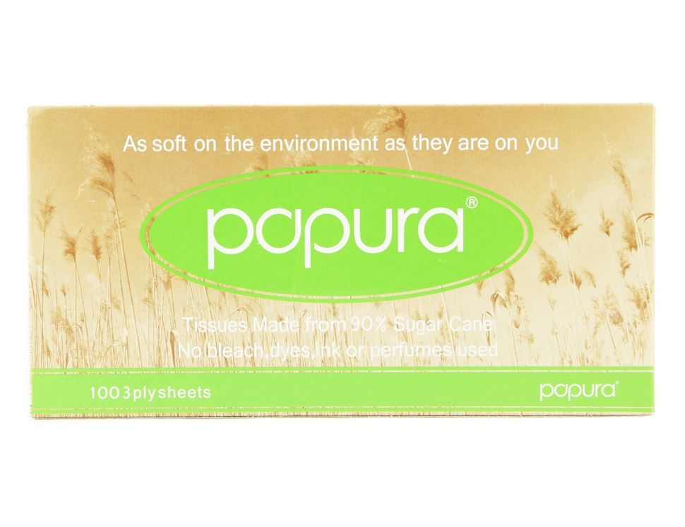 Facial Tissues, Papura (pack of 100)