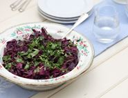 Sweet and Spicy Red Cabbage
