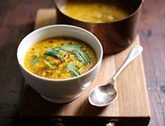 Caramelised Carrot & Mint Soup