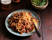 Spaghetti Bolognese with Tunisian Spices