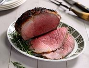 Roast Topside with Rosemary & Horseradish Crust