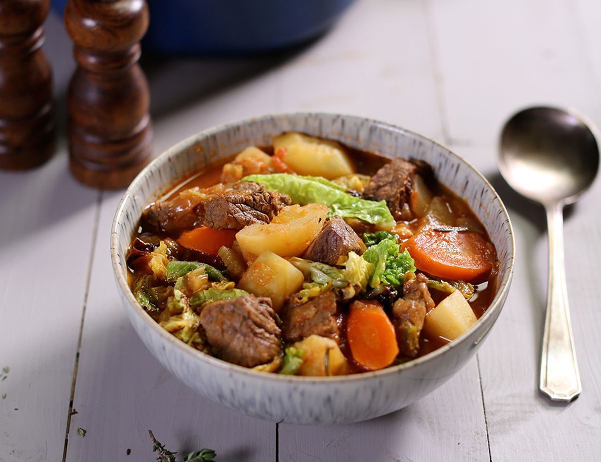 Rustic Beef & Vegetable Stew