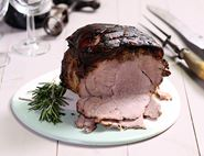 Mustard & Herb Roast Pork
