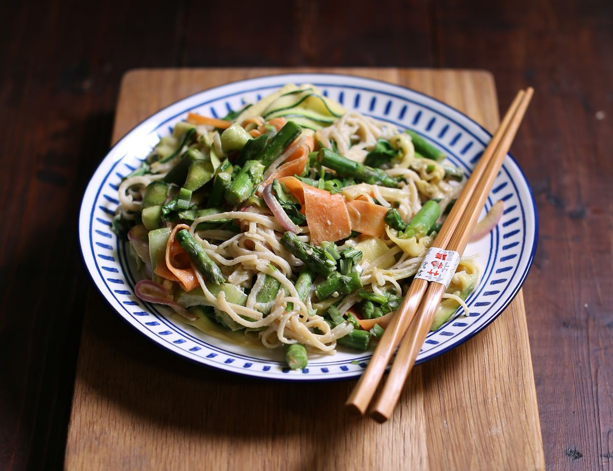 Spring Vegetable Noodles