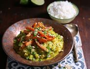 Speedy Fragrant Carrot, Cashew & Ginger Curry