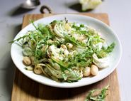 Roast Fennel, Mozzarella & Big Bean Salad