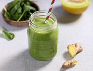 Melon & Spinach Shake