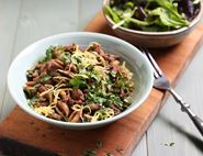 Syrian Lentils & Pasta with Sumach