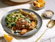 Spiced Chicken & Rhubarb Tagine