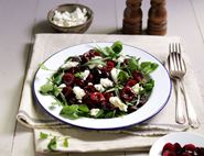 Cherry, Goats Cheese & Beetroot Salad