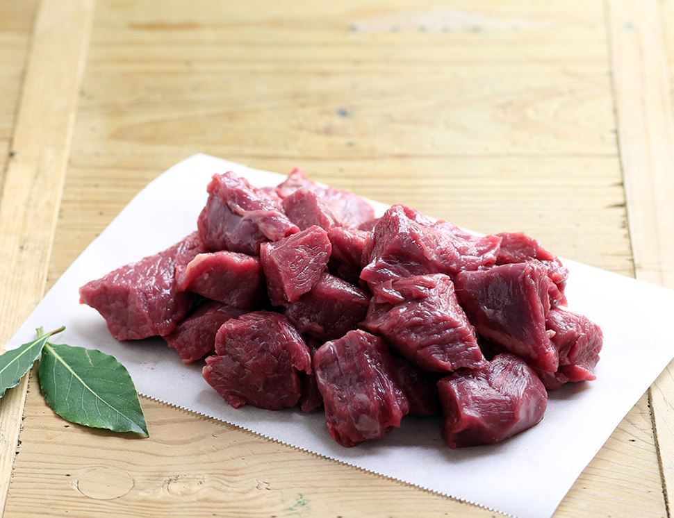 Stewing Steak, Diced, Organic (500g)