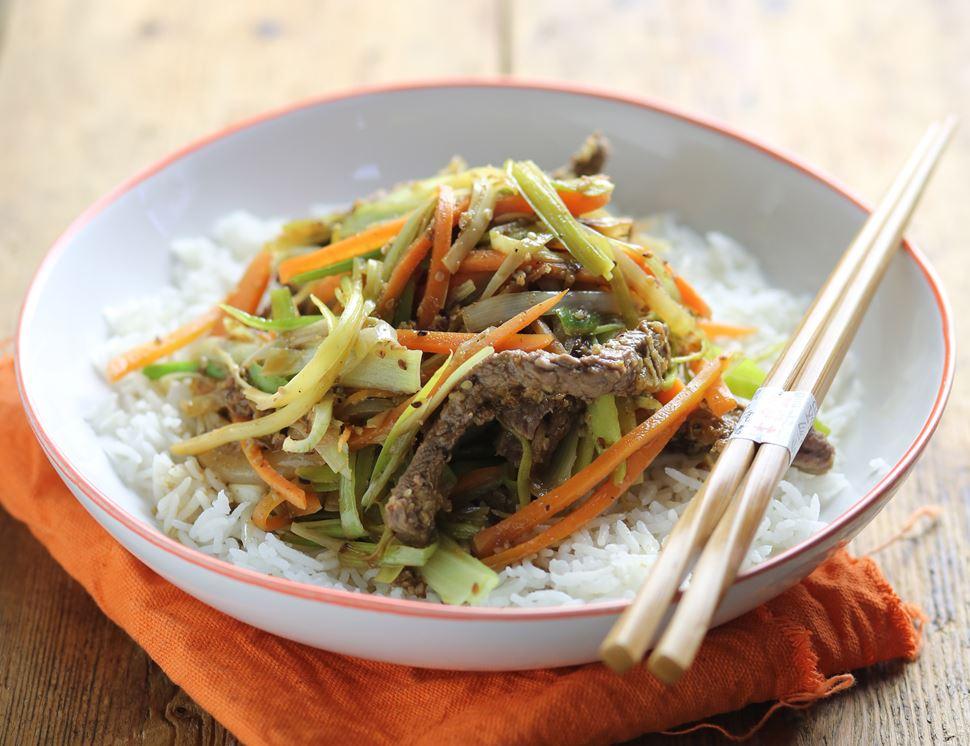 Korean Bulgogi Beef Stir-Fry Recipe   Abel & Cole