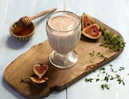 I Could Give a Honeyed Fig Smoothie