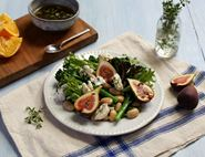 Fig, Tenderstem® & Goat's Cheese Salad