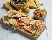 Guacamole & Goat's Cheese Quesadillas