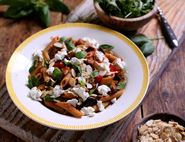 Goat's Cheese & Aubergine Penne