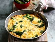 Tenderstem® Broccoli, Cheddar & Onion Frittata