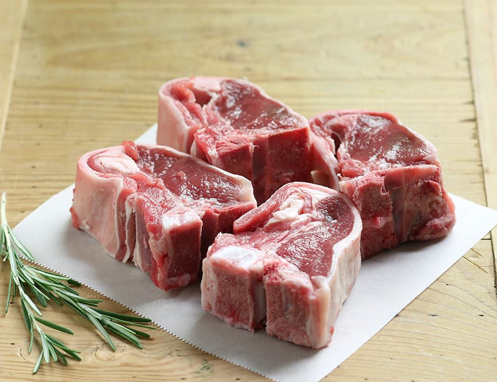Lamb Loin Chops, Organic (500g avg, pack of 4)