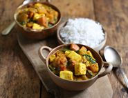 Halloumi, Coconut & Squash Curry