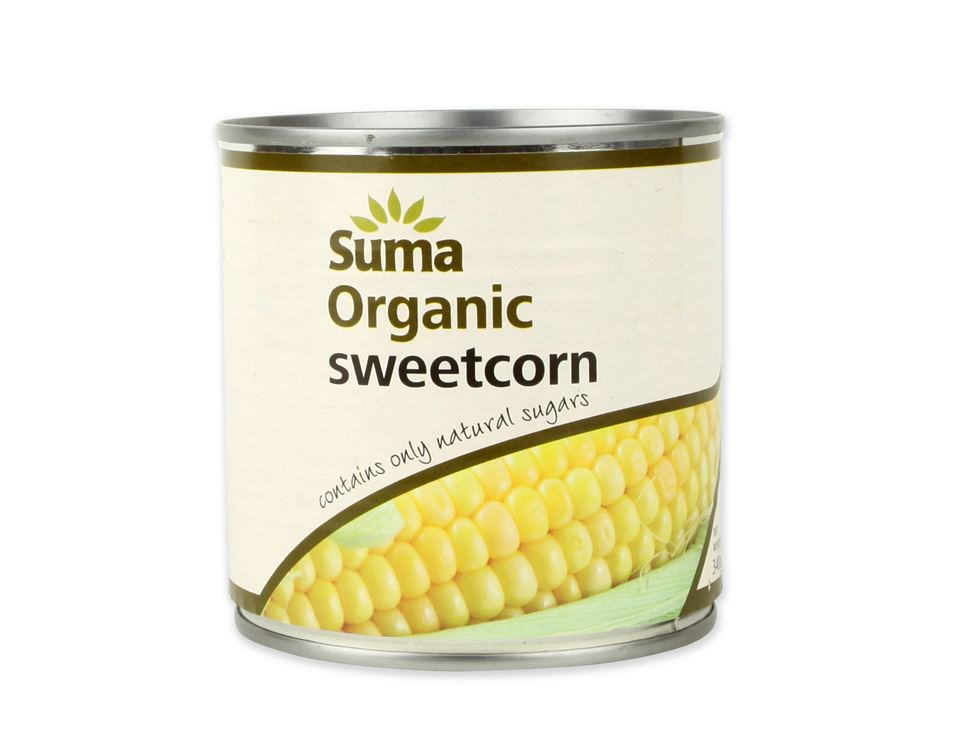 Sweetcorn, Suma (340g)