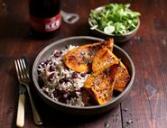 Jerk Spiced Squash with Rice & Peas