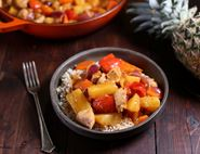 Sweet & Sour Pineapple Chicken with Rice