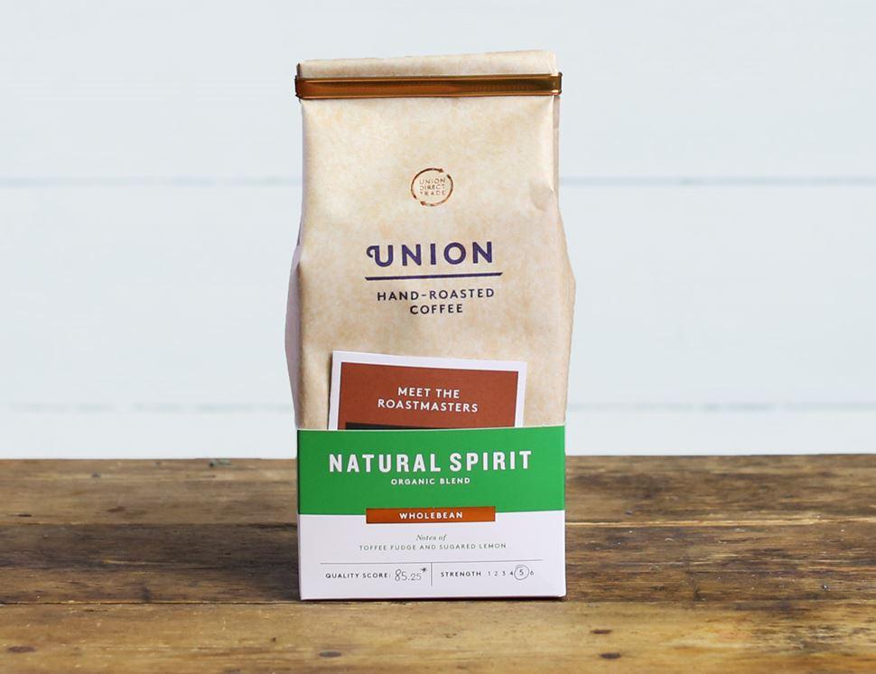 Natural Spirit Coffee Beans Organic Union Coffee 200g