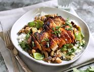 Crispy Thai Spiced Chicken with Rice