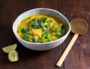 Thai Curried Squash & Coconut Soup