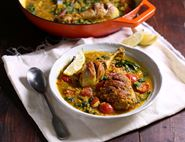 Turmeric Chicken & Lentil Stew