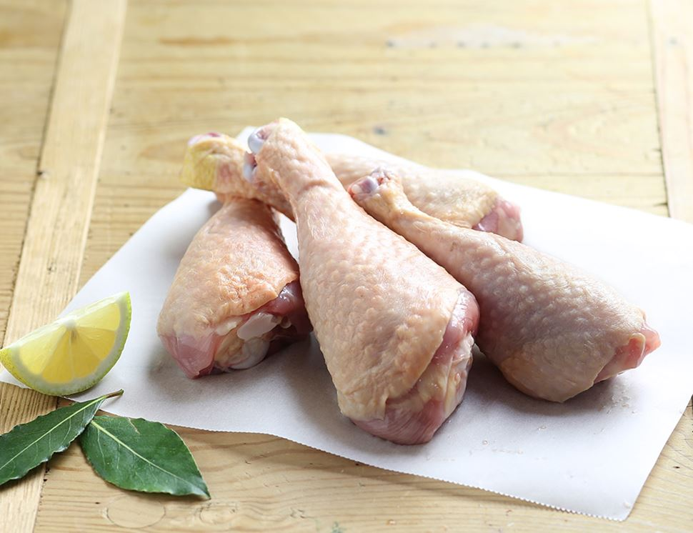 Chicken Drumsticks, Organic (500g avg, pack of 4)