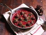Meatballs in Cranberry Sauce