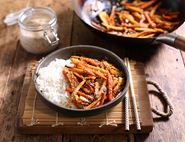 Japanese-Style Parsnips & Carrot Stir-Fry