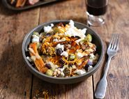 Roast Squash, Feta & Walnut Couscous