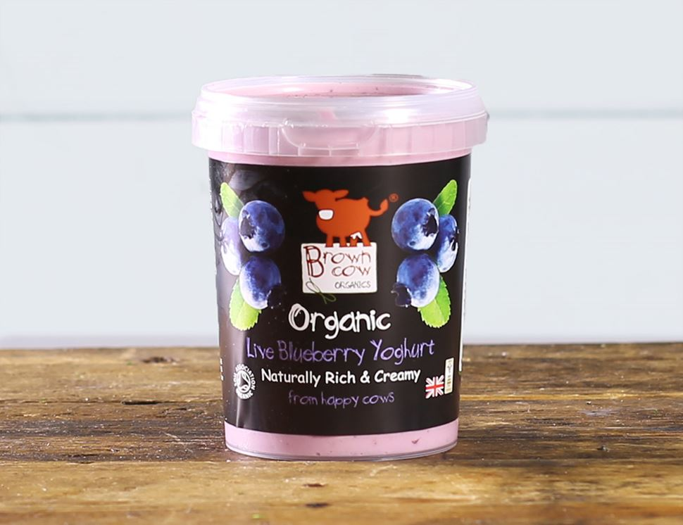 Blueberry Yogurt, Organic, Brown Cow Organics (480g)
