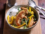 Honey & Ginger Chicken Stir-Fry