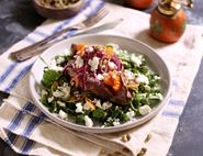 Sweet Potato Jackets with Whipped Feta