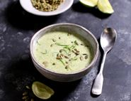 Broccoli, Coconut & Ginger Soup