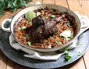 Pot Roasted Venison Shank Chilli